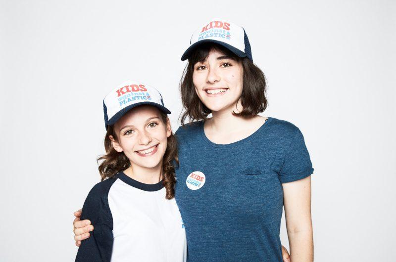edu kids against plastic amy and ella kap hats