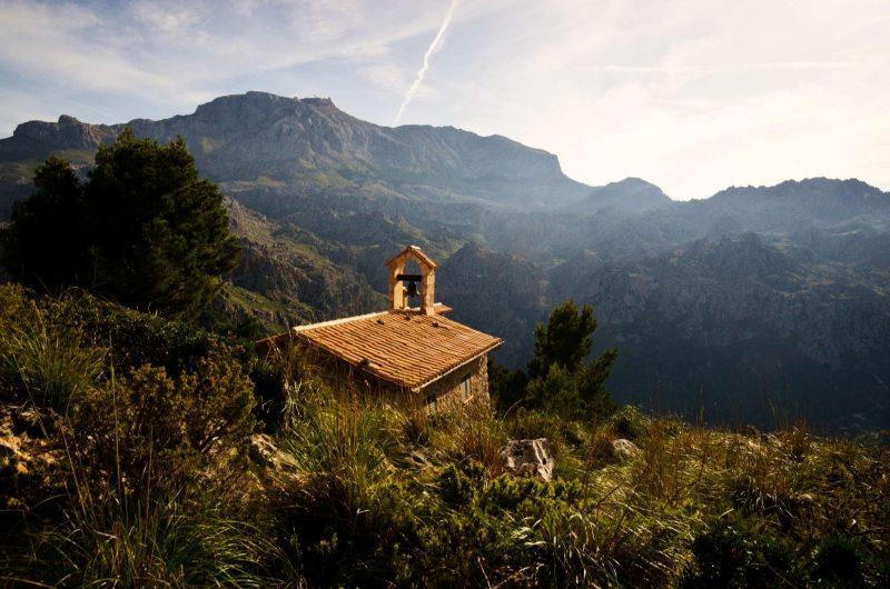 edu mallorca chapel tramontana mountains