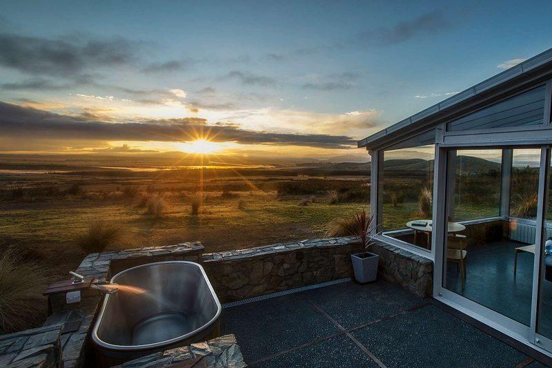 christchurch canterbury skyscape bath at sunrise