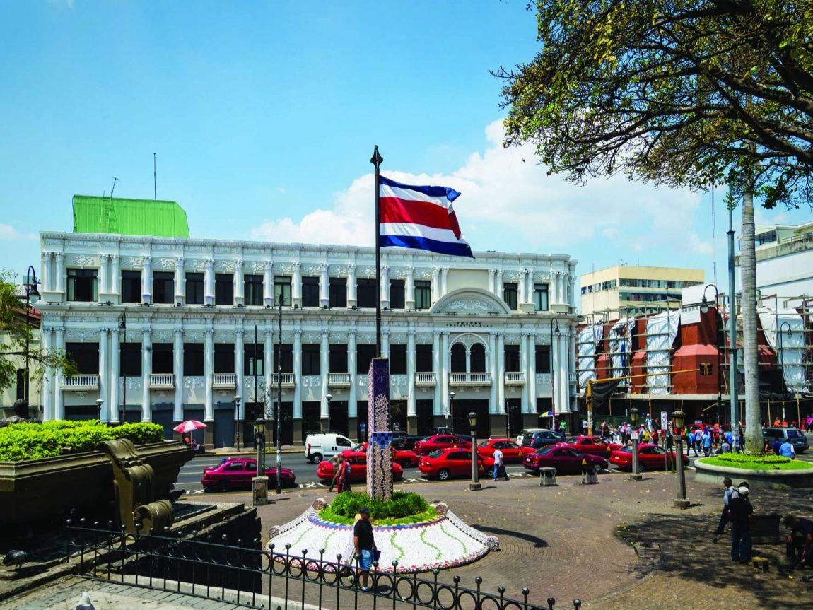 edu costa rica san jose with flag