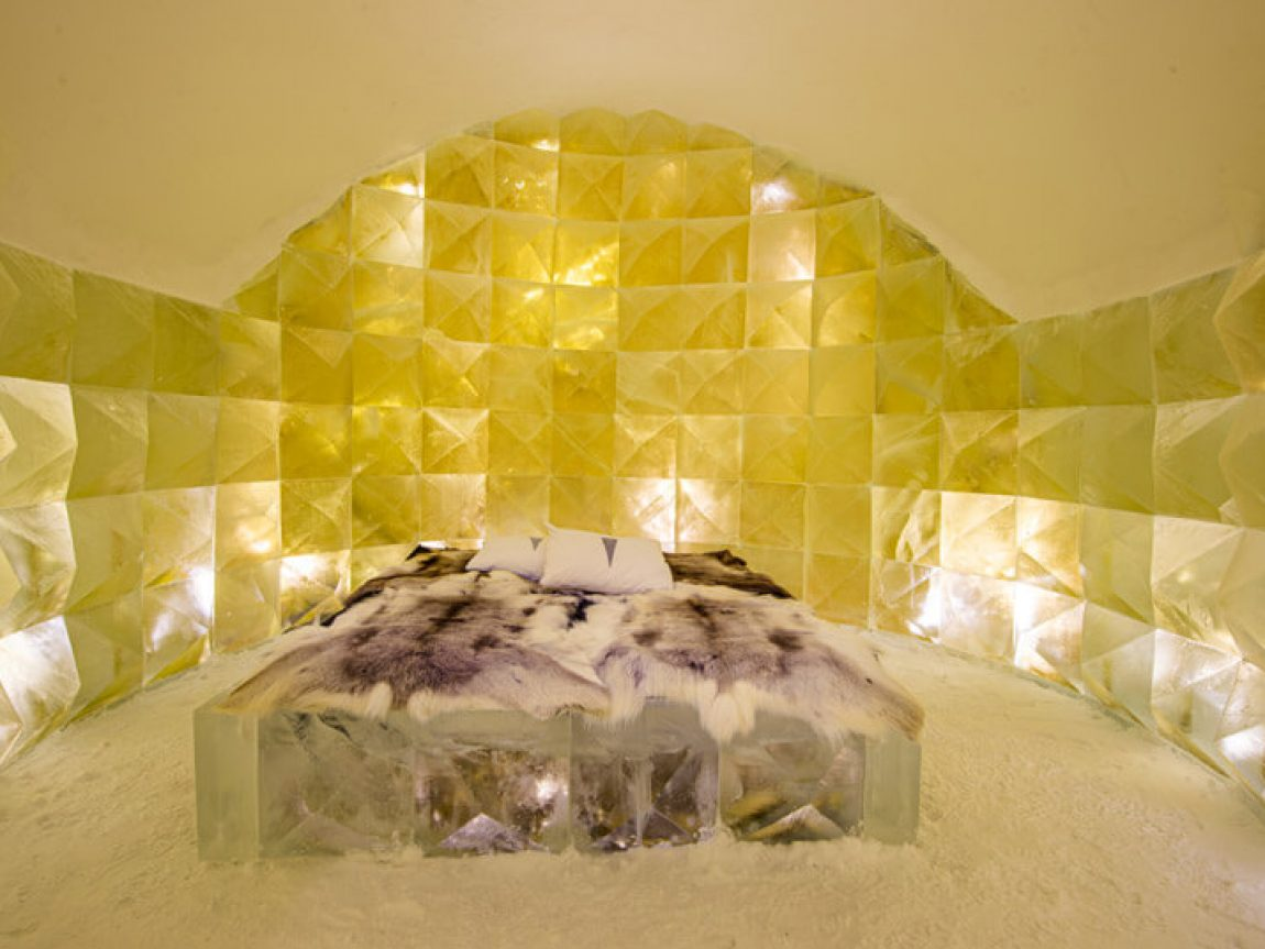 icehotel30 art suite golden ice by nicolas triboulot and jean marie guitera ak
