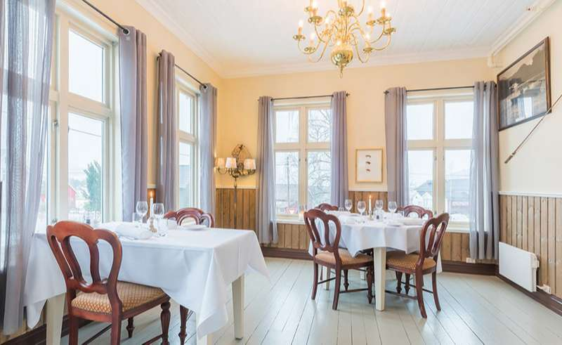 bergen gloppen hotel dining room 2