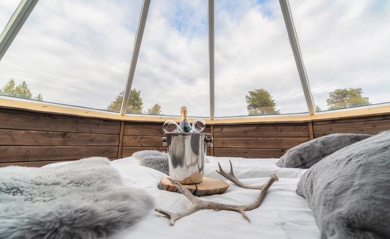 inari wilderness hotel aurora cabin