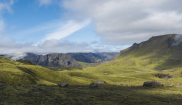 Panoramic view of Iceland