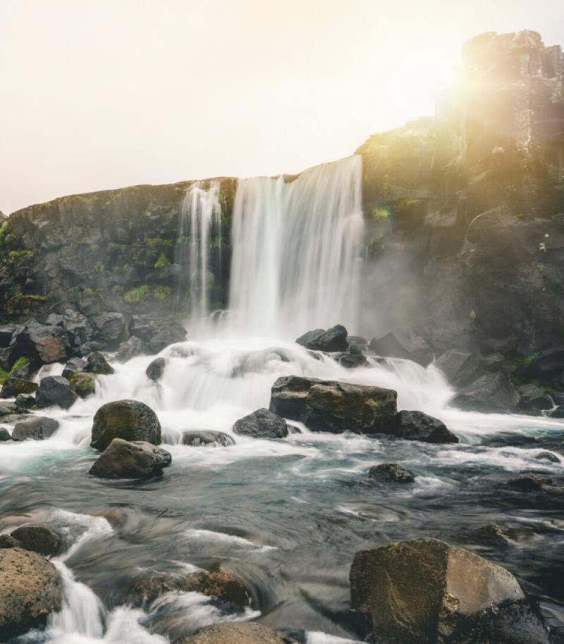 waterfall iceland 1