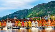 Waterfront in Bergen