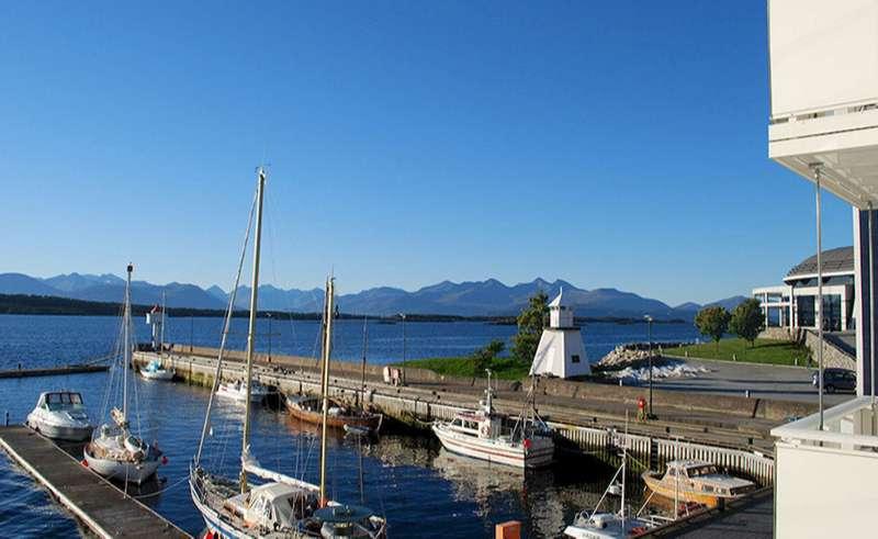 bergen molde fjordstuer view from hotel