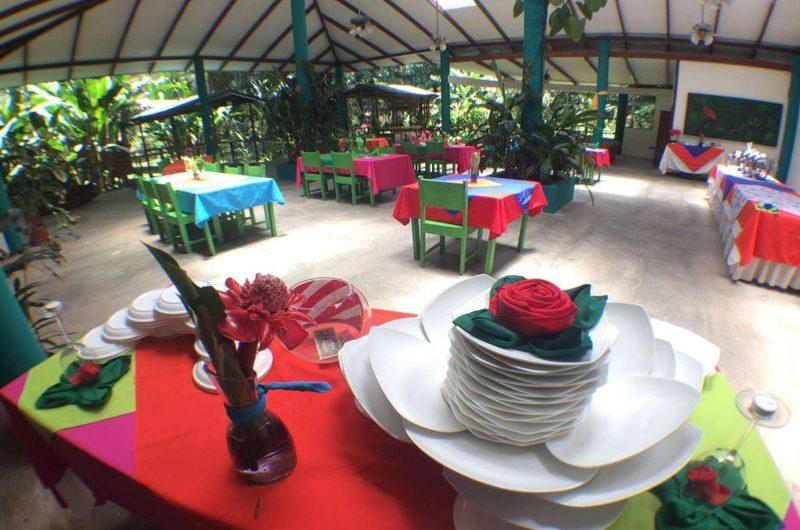 edu lapa verde eco lodge dining room