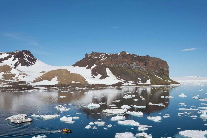 Explore remote islands in the Russian Arctic