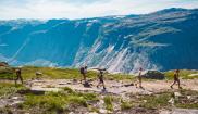 Hikers in Norway