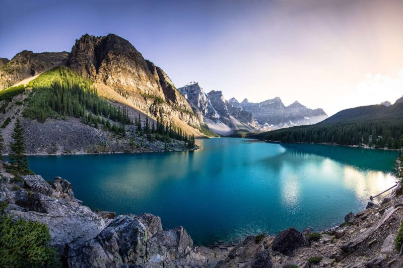 canada alberta moraine lake istk