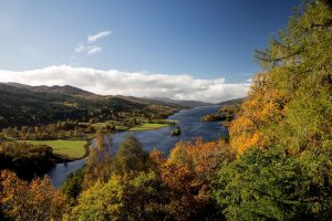 autumn in perthshire pitlochry istk