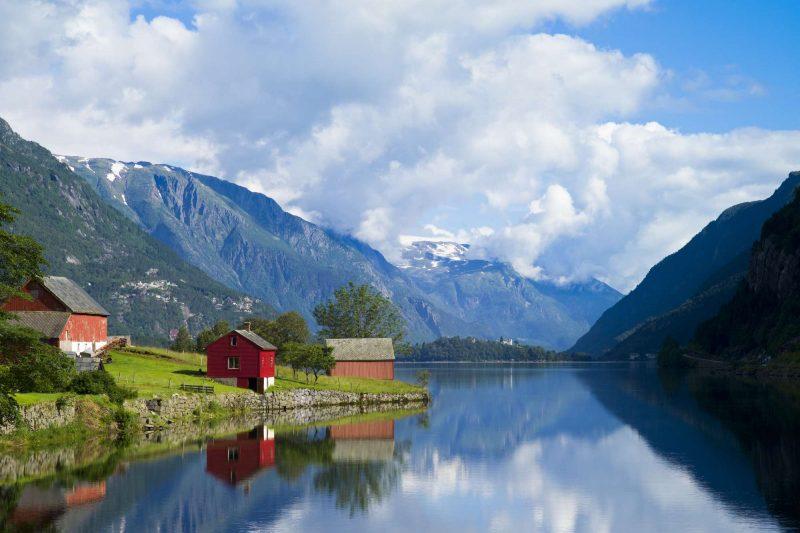 fjord norway gudvangen village naeroyfjord doll