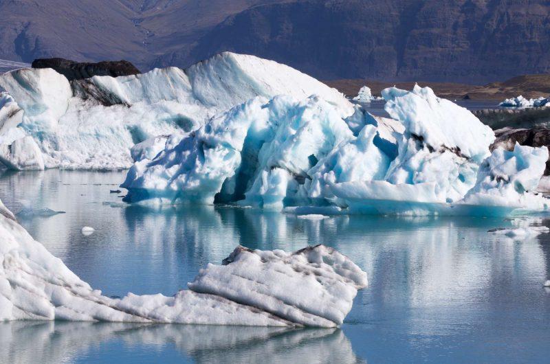 iceland south east icebergs at jokulsarlon wg