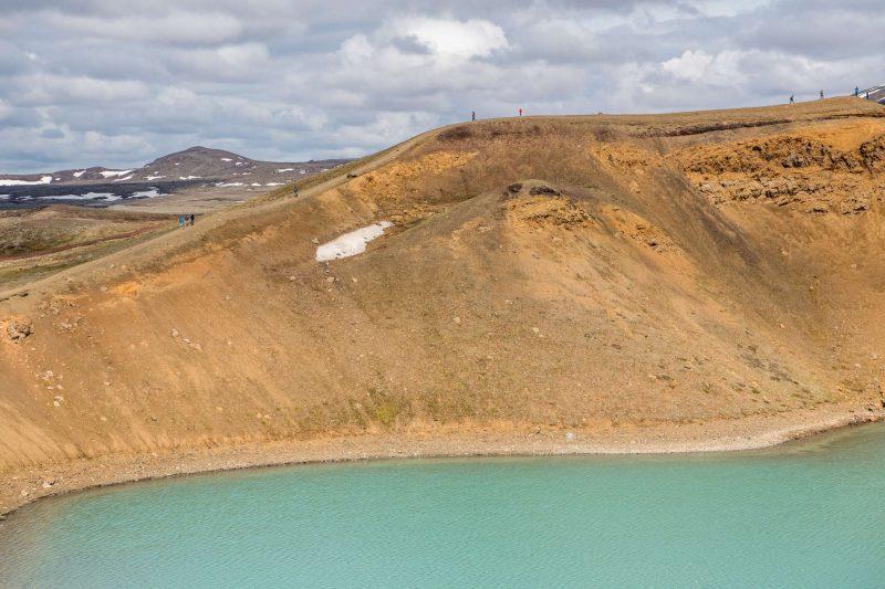 north iceland viti crater lake krafla gt