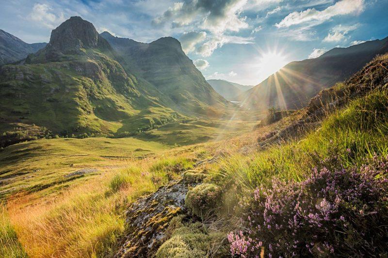 scottish highlands glencoe view istk