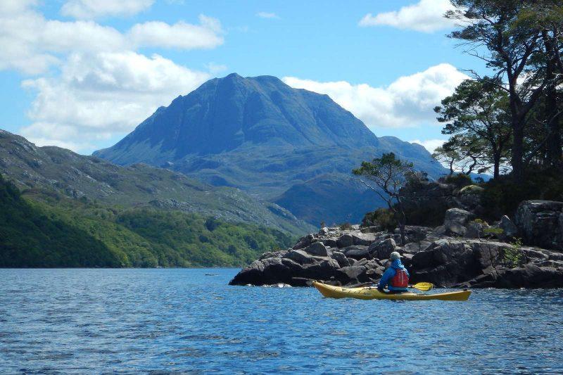 sea kayaking scottish highlands torridon