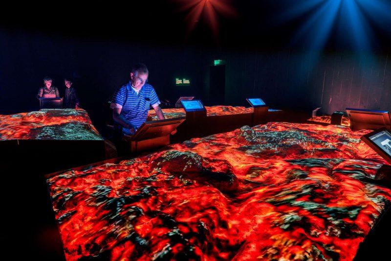 south west iceland lava centre exhibit