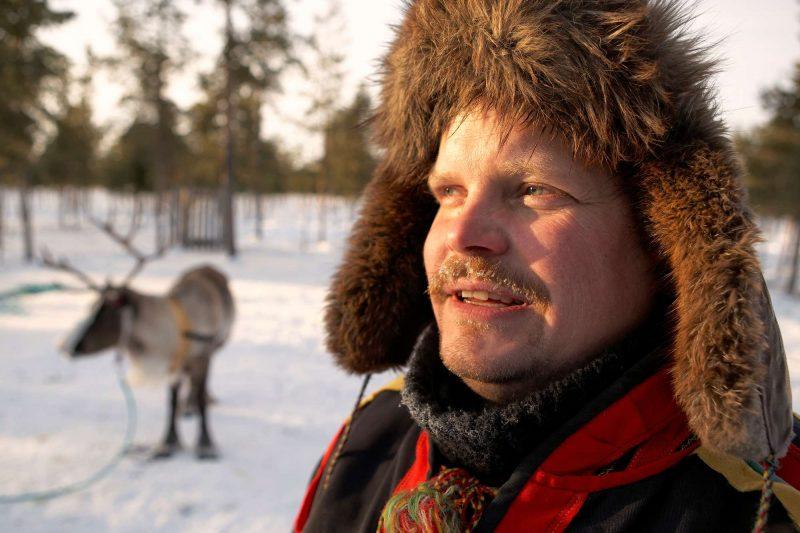 swedish lapland sami reindeer herder rth