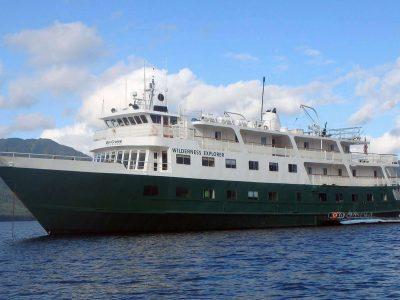wilderness explorer ship exterior