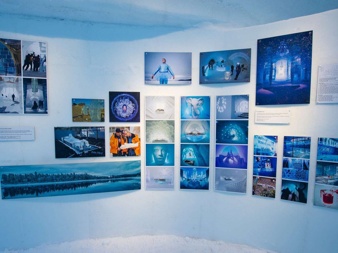 icehotel gallery photo wall ak
