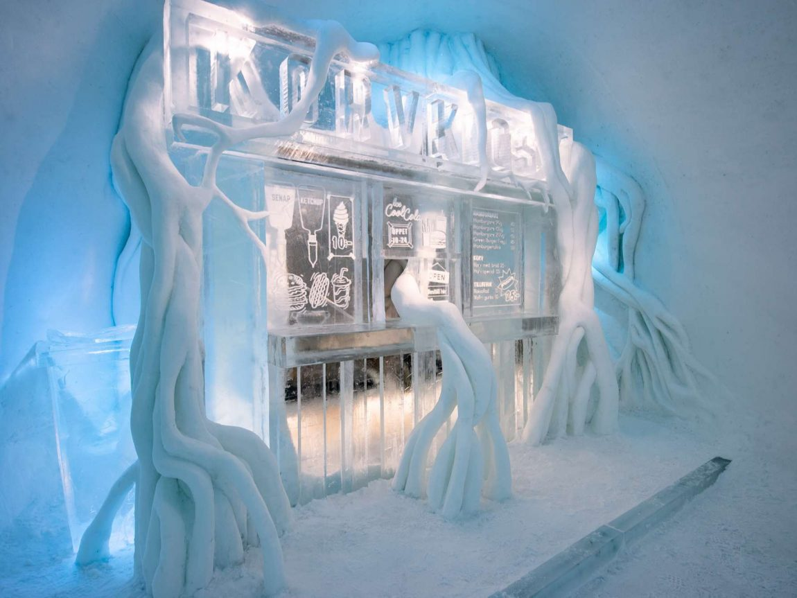 icehotel31 art suite paradice lost by kalle ekeroth and christian stromqvist ak