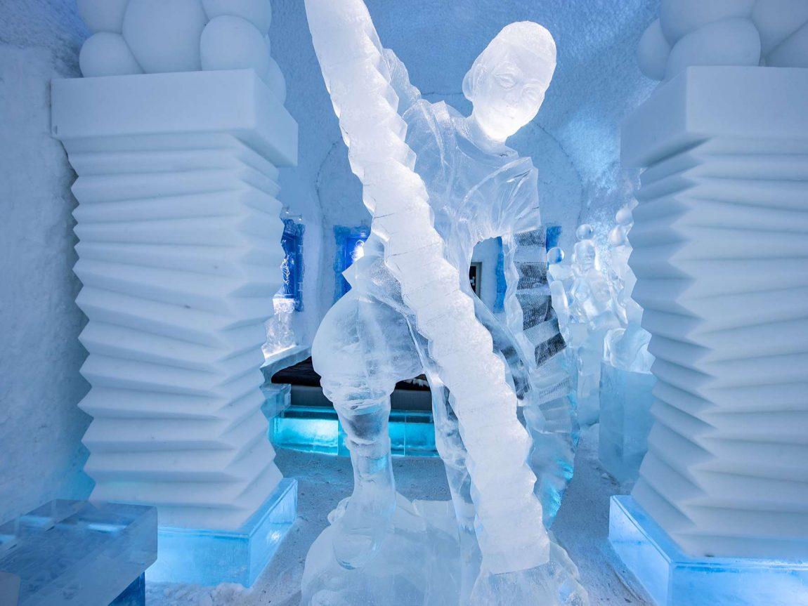 icehotel365 art suite hang loose detail ak