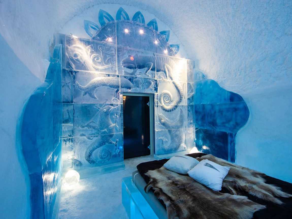 icehotel365 deluxe suite dreaming in a dream by kestutis vytautas musteikis ak