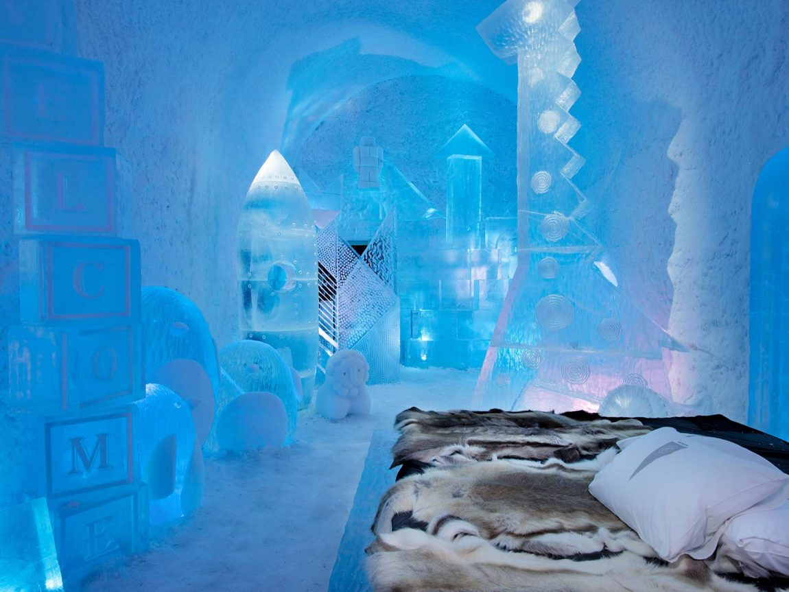 icehotel365 deluxe suite toybox by wouter biegelaar and viktor tsarski ak