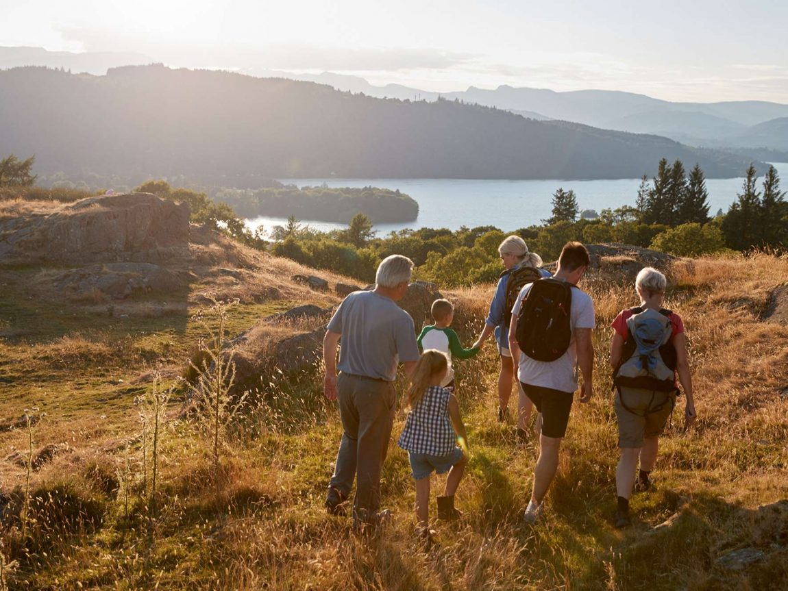 multi generational family holiday istk