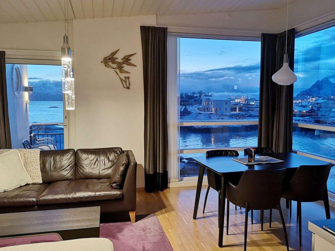 svinoya rorbuer vestfjord suites interior