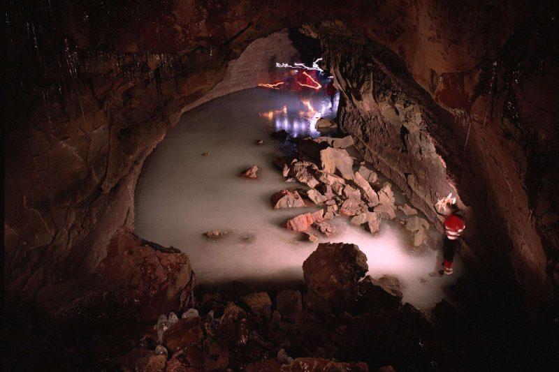 iceland snaefellsnes vidgelmir lava cave rth