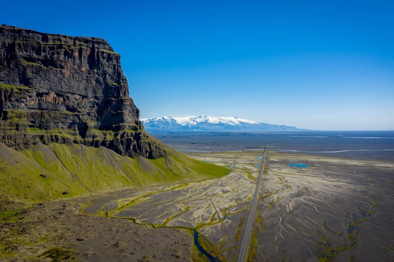 south east iceland lomagnupur sub glacial mound rth