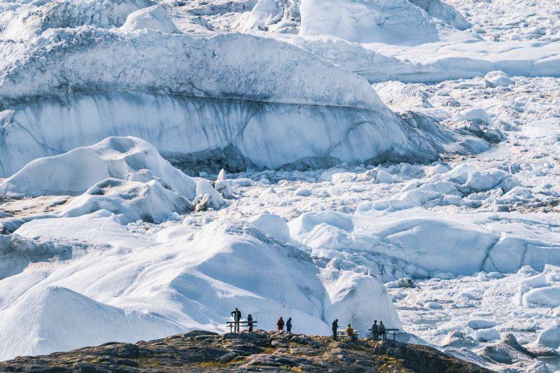 greenland ilulissat icefjord eqip sermia glacier viewpoint istk