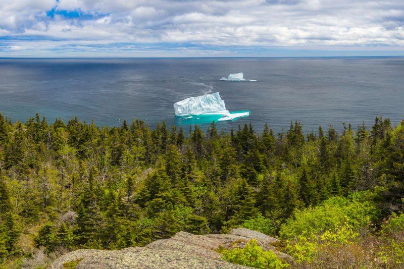 canada offshore iceberg near st johns newfoundland astk