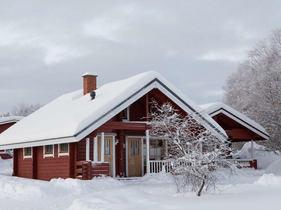 holiday village inari cottage exterior